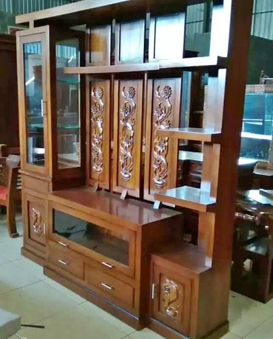 Lemari TV Minimalis 2019 - jepara furniture indonesia